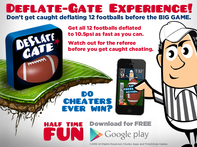 Deflate Gate Game for Google Play