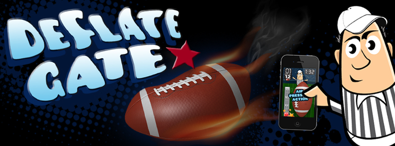 Deflate-Gate game for iOS Android and iPhone