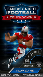 Fantasy Night Football Screenshot 5