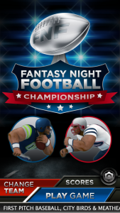 Fantasy Night Football Championship Edition Screenshot 5